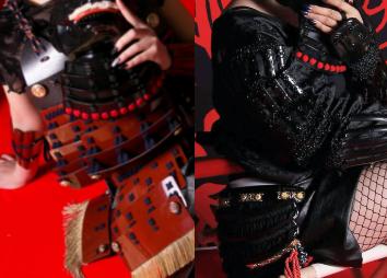 甲冑体験studioかすみの鎧(2種類から選択)画像